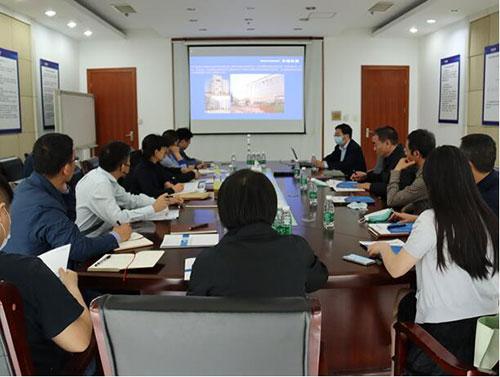 江苏省市场监管局一行天瑞仪器参观调研