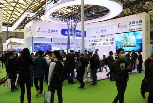 天瑞仪器携硬核技术产品精彩亮相2021中国环博会