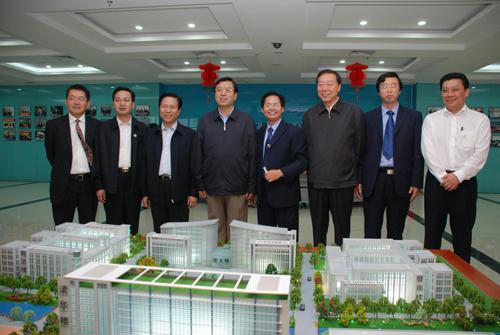 现任中共中央政治局常委、国务院副总理张德江等领导人来我公司调研